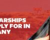 Top scholarships to apply for in germany for international students